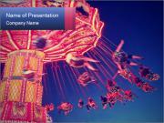 Retro Amusement Park PowerPoint Templates