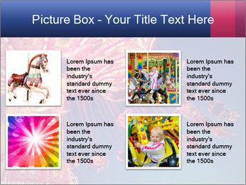 Retro Amusement Park PowerPoint Template - Slide 14
