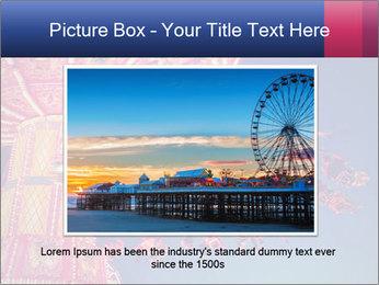 Retro Amusement Park PowerPoint Template - Slide 16