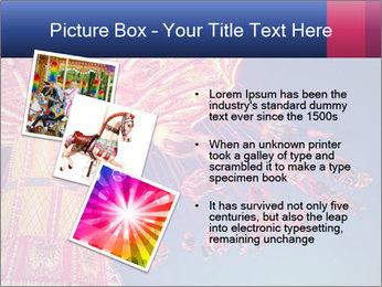 Retro Amusement Park PowerPoint Template - Slide 17