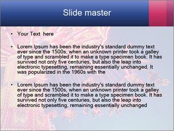 Retro Amusement Park PowerPoint Template - Slide 2