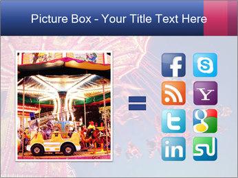 Retro Amusement Park PowerPoint Template - Slide 21