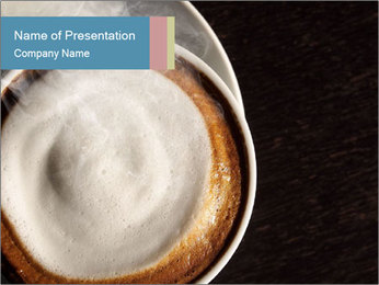 Delicious Coffe PowerPoint Template - Slide 1