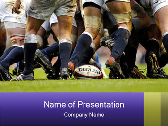 Rugby Competition PowerPoint Template