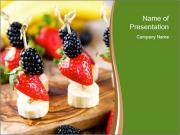 Fruit Appetizer PowerPoint Template