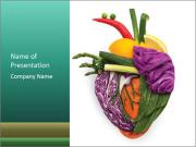 Veg Heart PowerPoint Template