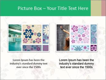 Vintage Floral Pattern PowerPoint Template - Slide 18