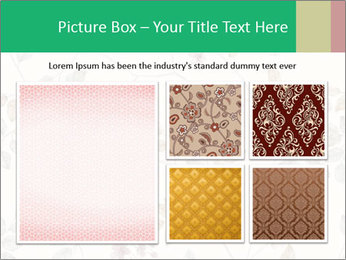 Vintage Floral Pattern PowerPoint Template - Slide 19