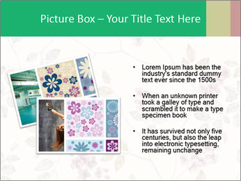 Vintage Floral Pattern PowerPoint Template - Slide 20