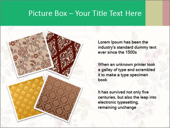 Vintage Floral Pattern PowerPoint Template - Slide 23