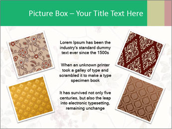 Vintage Floral Pattern PowerPoint Template - Slide 24
