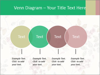 Vintage Floral Pattern PowerPoint Template - Slide 32
