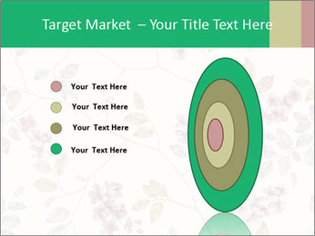 Vintage Floral Pattern PowerPoint Template - Slide 84