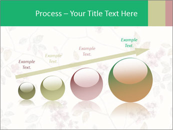 Vintage Floral Pattern PowerPoint Template - Slide 87