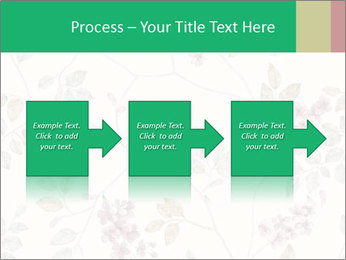 Vintage Floral Pattern PowerPoint Template - Slide 88