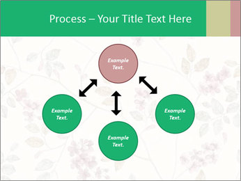 Vintage Floral Pattern PowerPoint Template - Slide 91