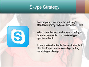 African Super Model PowerPoint Template - Slide 8