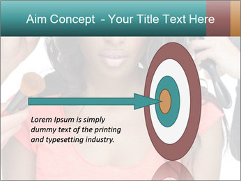 African Super Model PowerPoint Template - Slide 83