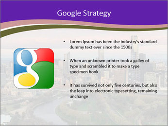 Aerial View Of Melbourne PowerPoint Template - Slide 10