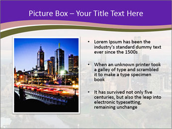 Aerial View Of Melbourne PowerPoint Template - Slide 13