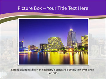 Aerial View Of Melbourne PowerPoint Template - Slide 15