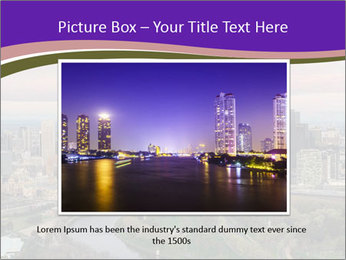 Aerial View Of Melbourne PowerPoint Template - Slide 16