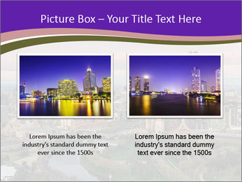 Aerial View Of Melbourne PowerPoint Template - Slide 18
