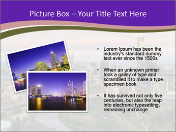 Aerial View Of Melbourne PowerPoint Template - Slide 20