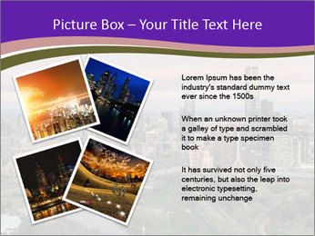 Aerial View Of Melbourne PowerPoint Template - Slide 23