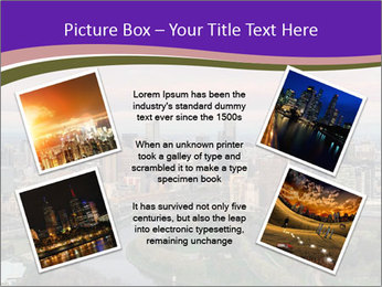 Aerial View Of Melbourne PowerPoint Template - Slide 24