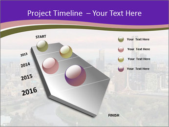 Aerial View Of Melbourne PowerPoint Template - Slide 26
