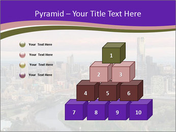 Aerial View Of Melbourne PowerPoint Template - Slide 31