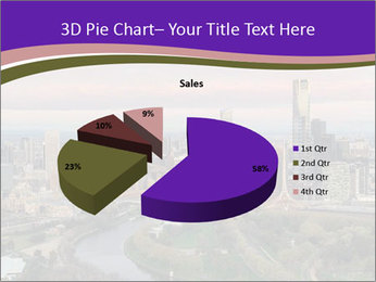 Aerial View Of Melbourne PowerPoint Template - Slide 35