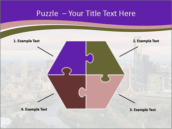 Aerial View Of Melbourne PowerPoint Template - Slide 40