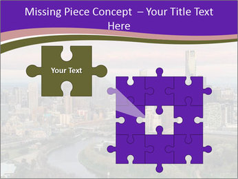 Aerial View Of Melbourne PowerPoint Template - Slide 45