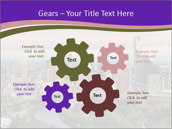 Aerial View Of Melbourne PowerPoint Template - Slide 47