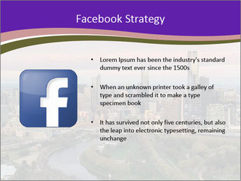 Aerial View Of Melbourne PowerPoint Template - Slide 6