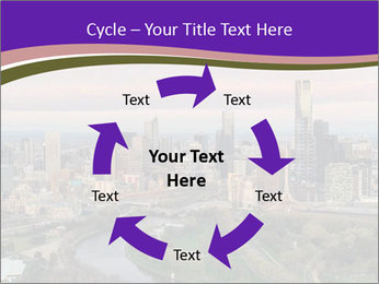Aerial View Of Melbourne PowerPoint Template - Slide 62