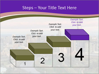 Aerial View Of Melbourne PowerPoint Template - Slide 64