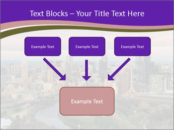 Aerial View Of Melbourne PowerPoint Template - Slide 70