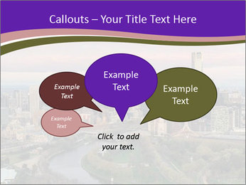 Aerial View Of Melbourne PowerPoint Template - Slide 73