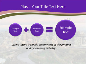 Aerial View Of Melbourne PowerPoint Template - Slide 75