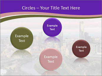 Aerial View Of Melbourne PowerPoint Template - Slide 77
