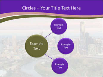 Aerial View Of Melbourne PowerPoint Template - Slide 79