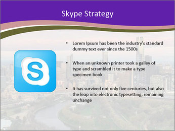 Aerial View Of Melbourne PowerPoint Template - Slide 8