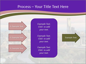 Aerial View Of Melbourne PowerPoint Template - Slide 85
