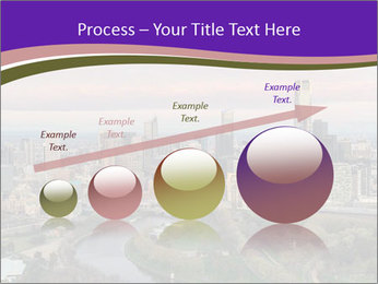 Aerial View Of Melbourne PowerPoint Template - Slide 87
