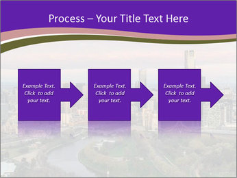 Aerial View Of Melbourne PowerPoint Template - Slide 88