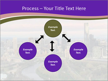 Aerial View Of Melbourne PowerPoint Template - Slide 91