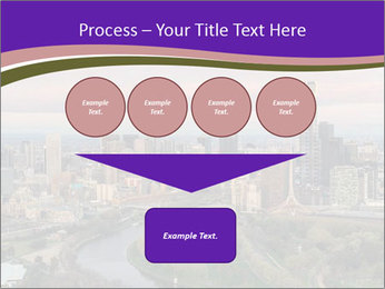 Aerial View Of Melbourne PowerPoint Template - Slide 93